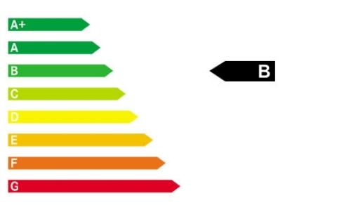 Das Modell hat CO2-Effizienz-Klasse B
